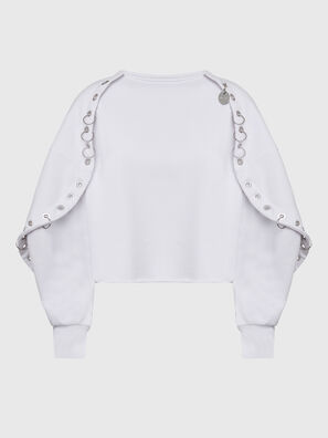 F-OLL, Blanc - Pull Cotton