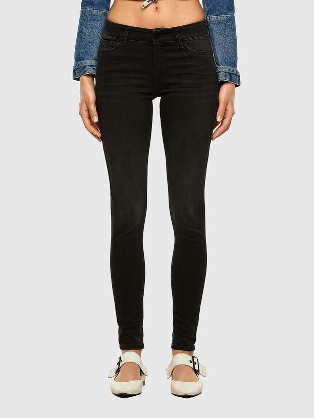 Slandy 069GG, Noir/Gris foncé - Jeans