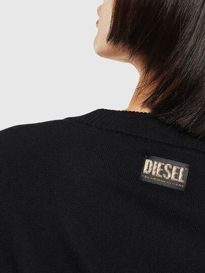 Diesel - CL-M-TESS, Noir - Pull Maille - Image 4