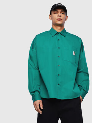 S-LOOMY, Vert - Chemises