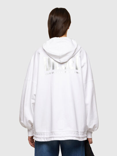 Diesel - F-BILLY-LOGO, Blanc - Pull Cotton - Image 2