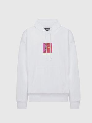 S-ALBY-X5, Blanc - Pull Cotton
