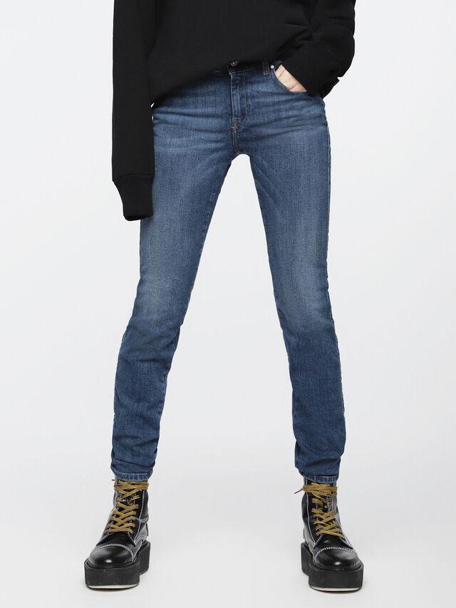 Diesel - Sandy 069AJ, Bleu moyen - Jeans - Image 1