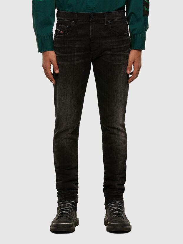 D-Strukt 0098B, Noir/Gris foncé - Jeans
