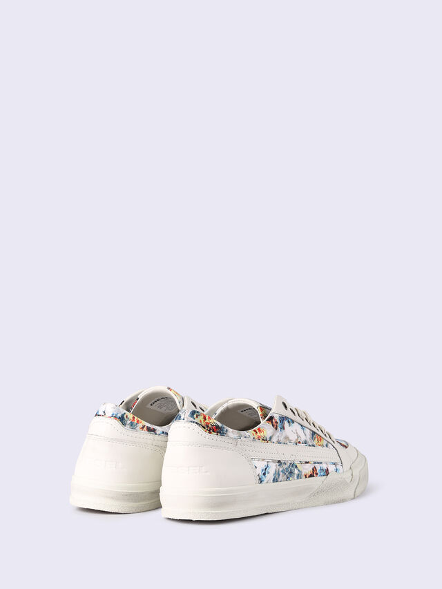 S-GRINDD LOW LACE, Blanc