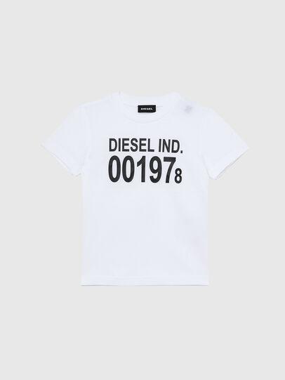 Diesel - TDIEGO001978B-R, Blanc/Noir - T-shirts et Hauts - Image 1