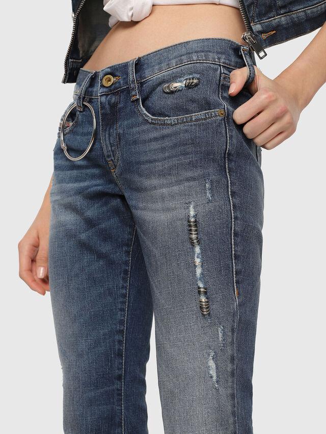 Diesel - D-Ferenz 081AN, Bleu moyen - Jeans - Image 3