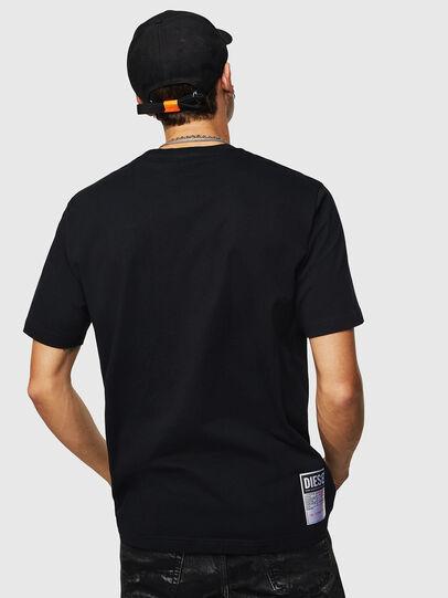 Diesel - T-JUST-B23, Noir - T-Shirts - Image 3