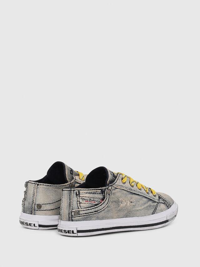 Diesel - SN LOW LACE DENIM 13, Jean Gris - Footwear - Image 3