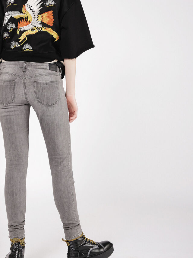 Diesel - Gracey 084VS, Gris Clair - Jeans - Image 2