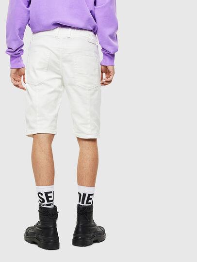 Diesel - D-KROOSHORT JOGGJEANS, Blanc - Shorts - Image 2