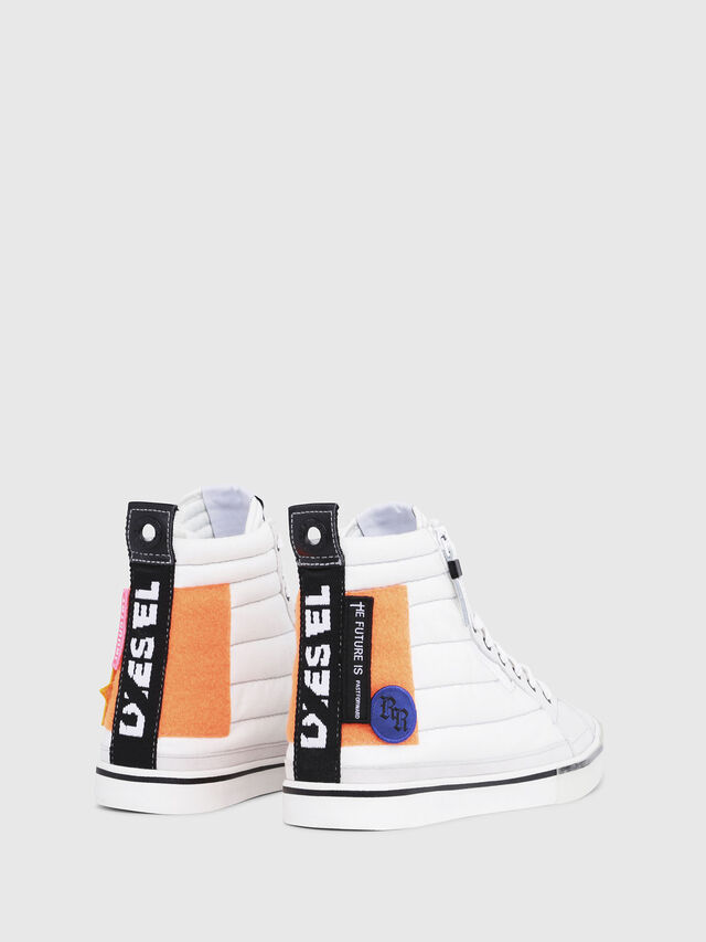 Diesel - D-VELOWS MID PATCH, Polychrome/Blanc - Baskets - Image 3