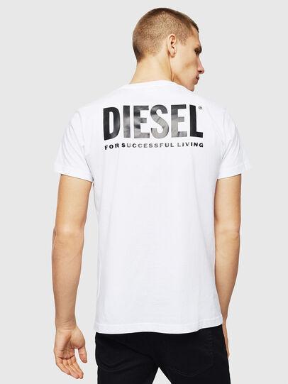 Diesel - LR-T-DIEGO-VIC, Blanc - T-Shirts - Image 2