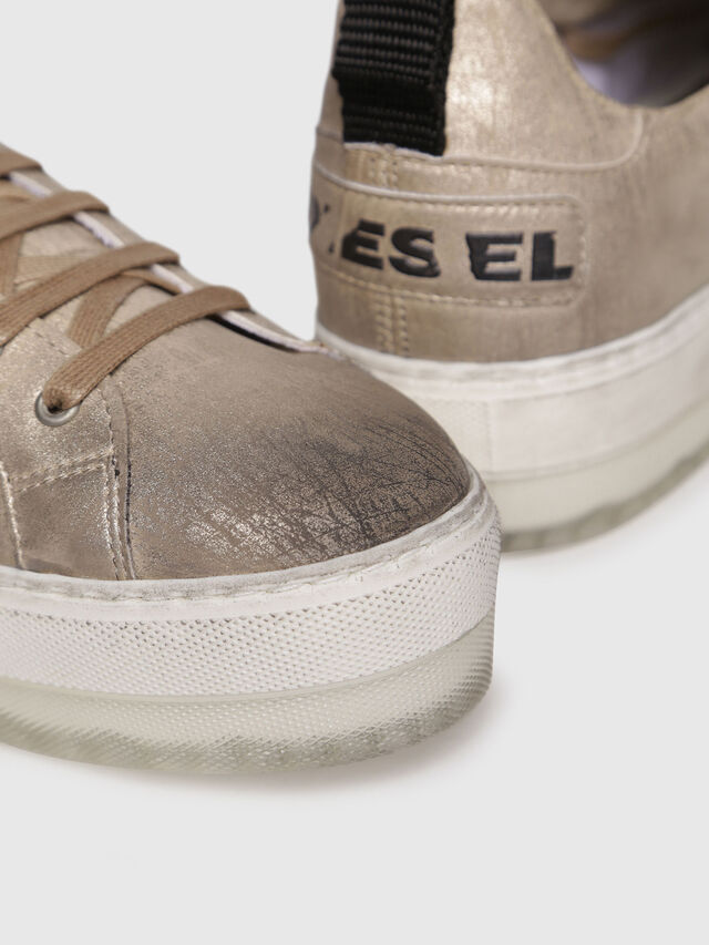 Diesel - S-LENGLAS LOW LACE, Or - Baskets - Image 4