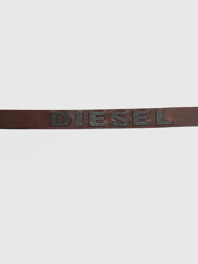 Diesel - B-BOLD, Marron - Ceintures - Image 4