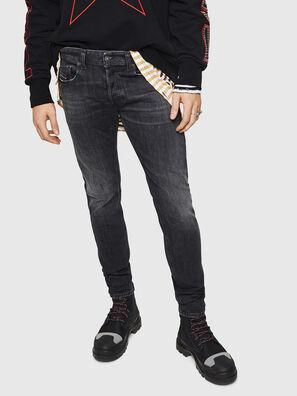 Sleenker 084AT, Noir/Gris foncé - Jeans