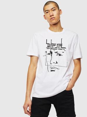 T-JUST-J14, Blanc - T-Shirts
