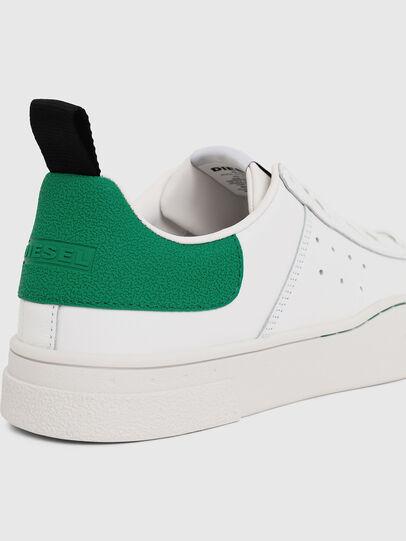 Diesel - S-CLEVER LOW, Blanc/Vert - Baskets - Image 4