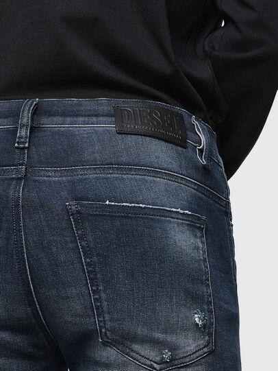 Diesel - D-Istort 0098R, Bleu Foncé - Jeans - Image 4