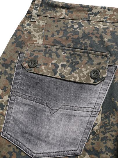 Diesel - D-ONT-HURT-ME, Vert Camouflage - Pantalons - Image 6
