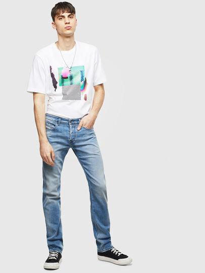 Diesel - Safado 069MN, Bleu Clair - Jeans - Image 5