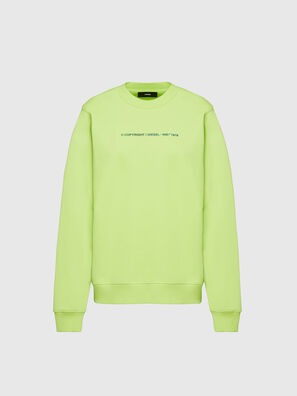 F-ANG-COPY, Vert Fluo - Pull Cotton