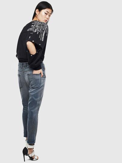 Diesel - D-Eifault JoggJeans 069LT, Bleu Foncé - Jeans - Image 2