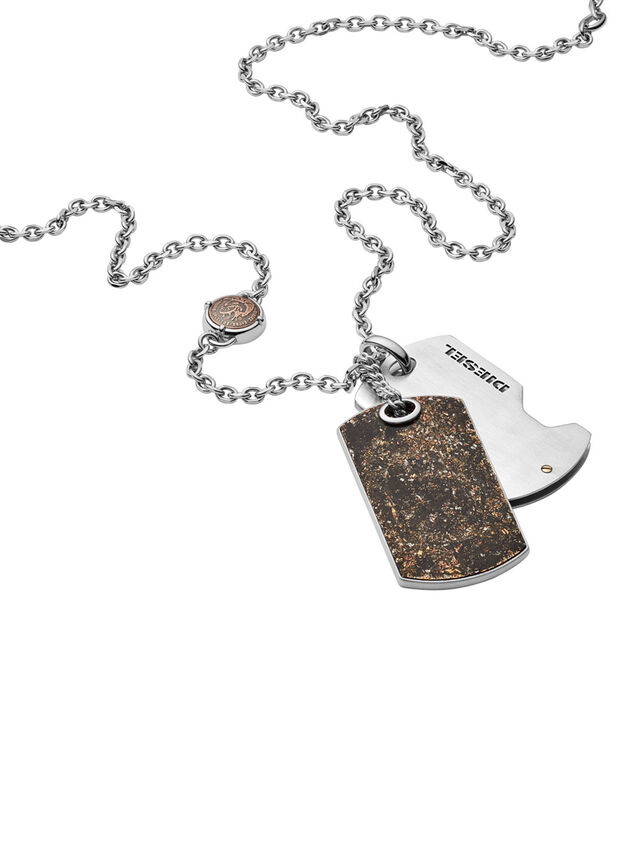 Diesel - NECKLACE DX1079, Bronze - Colliers - Image 2