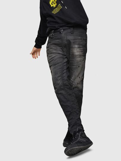 Diesel - D-Earby JoggJeans 069GN, Noir/Gris foncé - Jeans - Image 4