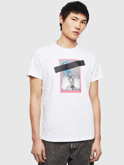Diesel - T-DIEGO-S8, Blanc - T-Shirts - Image 1