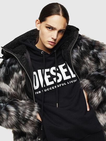 Diesel - L-ALYA, Noir - Vestes de cuir - Image 4