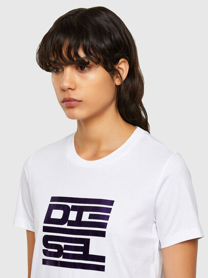 Diesel - T-SILY-K5, Blanc - T-Shirts - Image 3