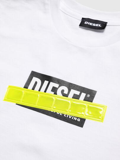 Diesel - TJUSTDIE, Blanc - T-shirts et Hauts - Image 3