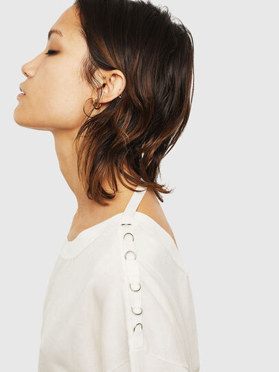 Diesel - M-PERLA-A, Blanc - Pull Maille - Image 3