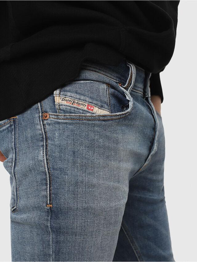 Diesel - Sleenker 086AP, Bleu Clair - Jeans - Image 3