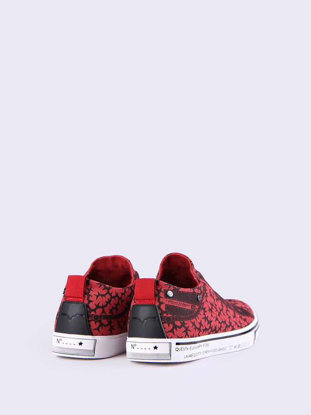 S-DIESEL IMAGINEE LOW SLIP-ON, Rouge