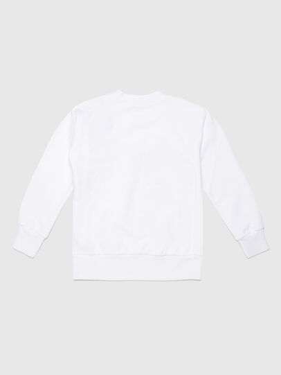 Diesel - SUNG OVER, Blanc - Pull Cotton - Image 2