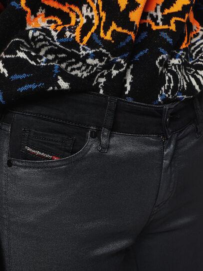 Diesel - Slandy Zip 069GF, Noir/Gris foncé - Jeans - Image 3