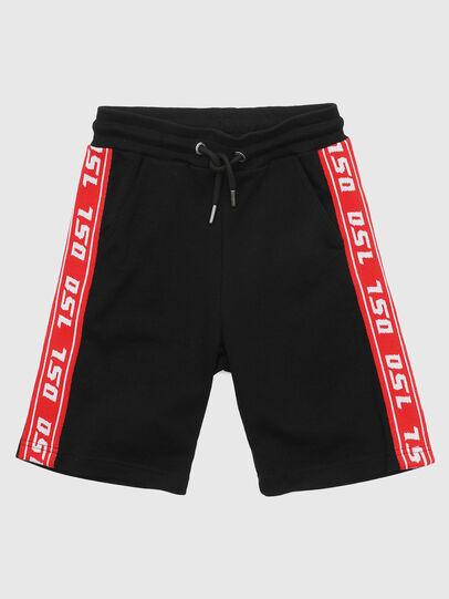Diesel - PHITOSHI, Noir/Rouge - Shorts - Image 1