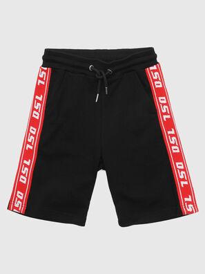 PHITOSHI, Noir/Rouge - Shorts