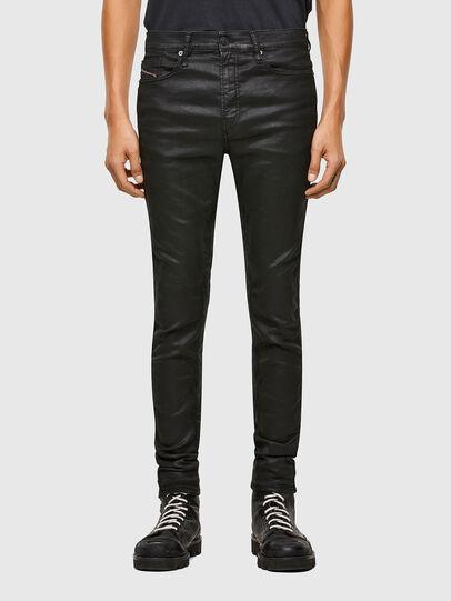 Diesel - D-REEFT JoggJeans® 069TE, Noir/Gris foncé - Jeans - Image 1