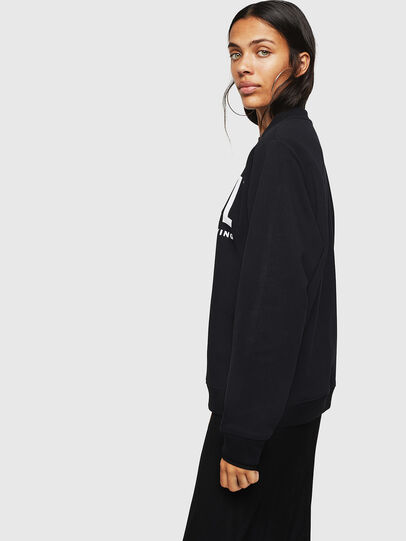 Diesel - F-ANG, Noir - Pull Cotton - Image 6