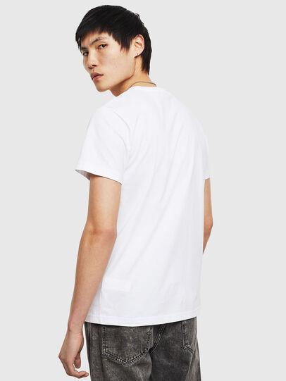 Diesel - T-DIEGO-S8, Blanc - T-Shirts - Image 2