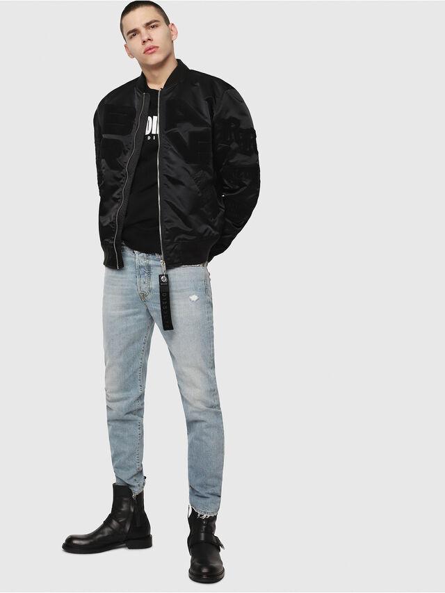 Diesel - Mharky 080AF, Bleu Clair - Jeans - Image 5