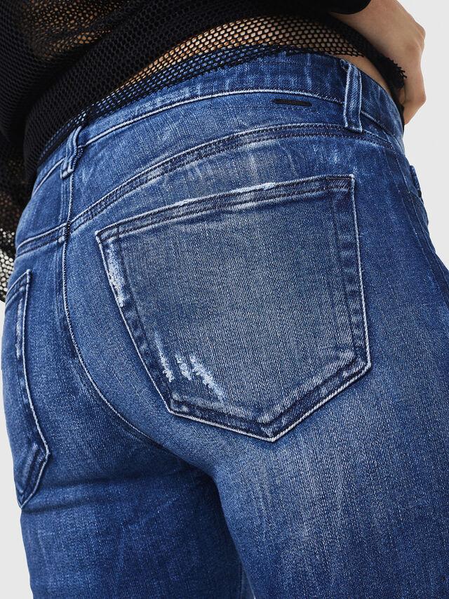 Diesel - Slandy 0090K, Bleu moyen - Jeans - Image 4