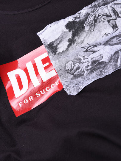 Diesel - TJUSTXH, Noir - T-shirts et Hauts - Image 3