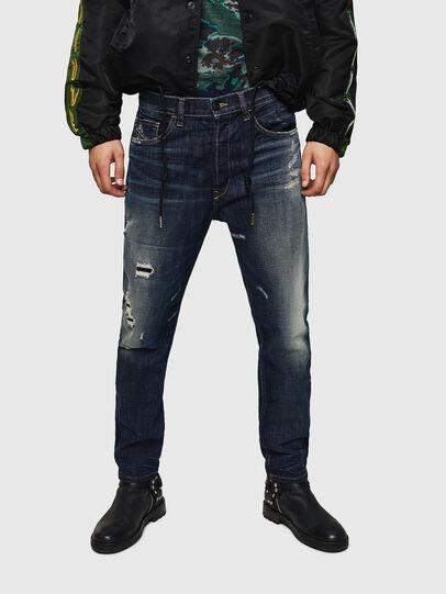 Diesel - D-Eetar 0890W, Bleu Foncé - Jeans - Image 1