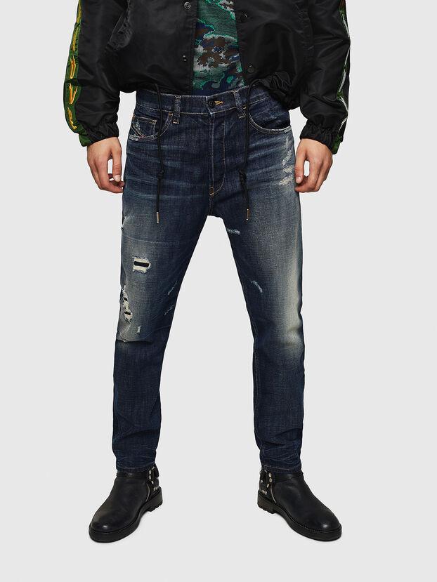 D-Eetar 0890W, Bleu Foncé - Jeans