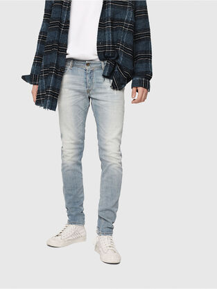 Sleenker 081AJ, Bleu Clair - Jeans
