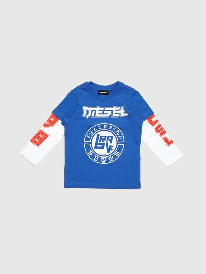 Diesel - TUCOB-R, Bleu - T-shirts et Hauts - Image 1